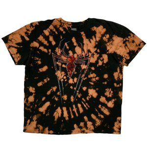 Marvel Spiderman Graphic Custom Tie-Dye T-Shirt